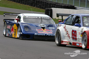 #58 Brumos Racing Porsche Fabcar: David Donohue, Mike Borkowski, Sascha Maassen