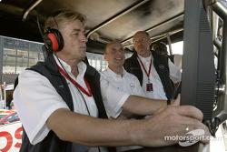 OPC Team Holzer Gunther Holzer, Volker Strycek and Berndt Wiesenhütter