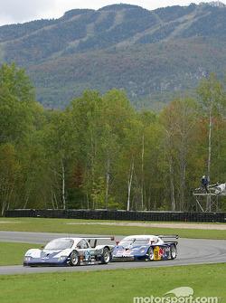 #54 Bell Motorsports Chevrolet Doran: Terry Borcheller, Forest Barber, Andy Pilgrim, and #58 Brumos Racing Porsche Fabcar: David Donohue, Mike Borkowski, Sascha Maassen