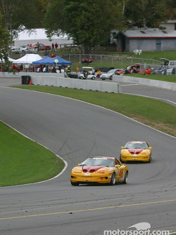 #45 Michael Baughman Racing Firebird: Mike Yeakle, Bob Ward