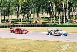 #39 Stevenson Motorsports / Auto Assets Porsche GT3 RS: Chip Vance, John Stevenson, and #27 Doran Lista Racing Toyota Doran: Didier Theys, Bill Auberlen