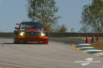 #6 Yokohama/ADVAN BMW M3: Bill Auberlen, Hans Stuck, Boris Said