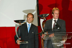 Marco Werner and Frank Biela were crowned as the 2003 American Le Mans Series driving champions in the Prototype 900 class at Sunday night's series awards banquet