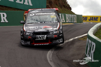 Craig Baird in the Team Kiwi Racing Commodore