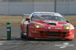 #35 XL Racing Ferrari Maranello: Guillaume Lesoudier, Gilles Vannecet