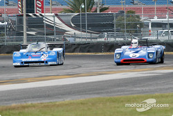83 Sauber C-6 GTPL, GTP4 and 71 Chevron Sports Racer, 3C