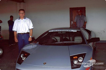 Marius Malherbe and the Lamborghini Murcielago