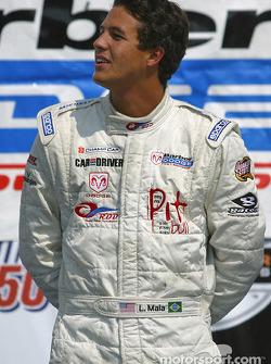 Podium: race winner Leonardo Maia
