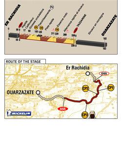 Stage 5: 2004-01-05, Er Rachidia to Ouarzazate