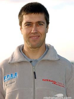 Nissan Dessoude team presentation: Patrick Igoa