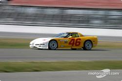 #46 Michael Baughman Racing Corvette: Peter Argetsinger, John Pew, Darrio Cioiti