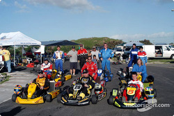 Memo Gidley Hawaiian Karting Clinic