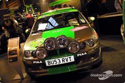 MG's MG ZR entry in the Wales Rally GB