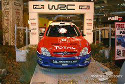 World Rally Championship display at Autosport International