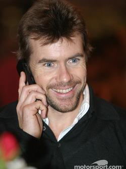 Paul Stewart at Autosport International