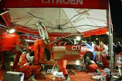 Citroën Sport service area