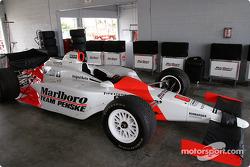 Marlboro Team Penske garage area