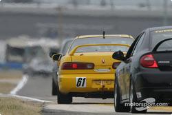 #61 Colletti Motorsports Acura Integra R: Mark Eaton, Steve Colletti
