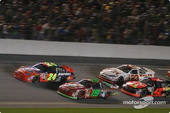 Jeff Gordon and Jeremy Mayfield