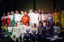 Family picture for the 2004 FIA production car World Championship contenders