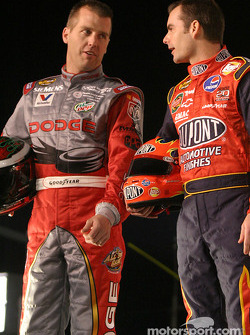 Drivers presentation: Jeremy Mayfield and Jeff Gordon