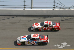 Scott Riggs and Casey Mears