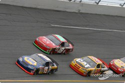 Michael Waltrip, Jeremy Mayfield and Scott Wimmer