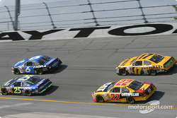 Brian Vickers, Mark Martin, Scott Wimmer and Matt Kenseth