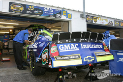 Hendrick Motorsports garage area