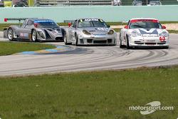 #63 Glenn Yee Motorsports Porsche GT3 Cup: Hugh Plumb, Geoff Escalette