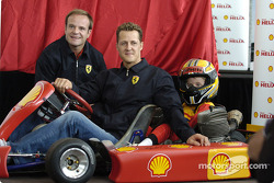 Shell press conference: Michael Schumacher and Rubens Barrichello