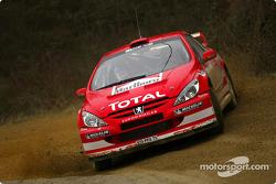 Peugeot 307WRC test in Toscany: Harri Rovanpera