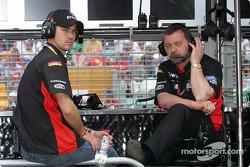 Tiago Monteiro and Paul Stoddart