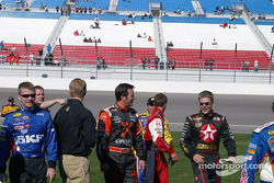 NEXTEL photoshoot: Jamie McMurray, Robby Gordon and Jeff Burton