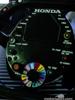 BAR-Honda steering wheel