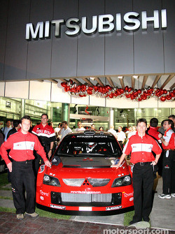 Mitsubishi media event