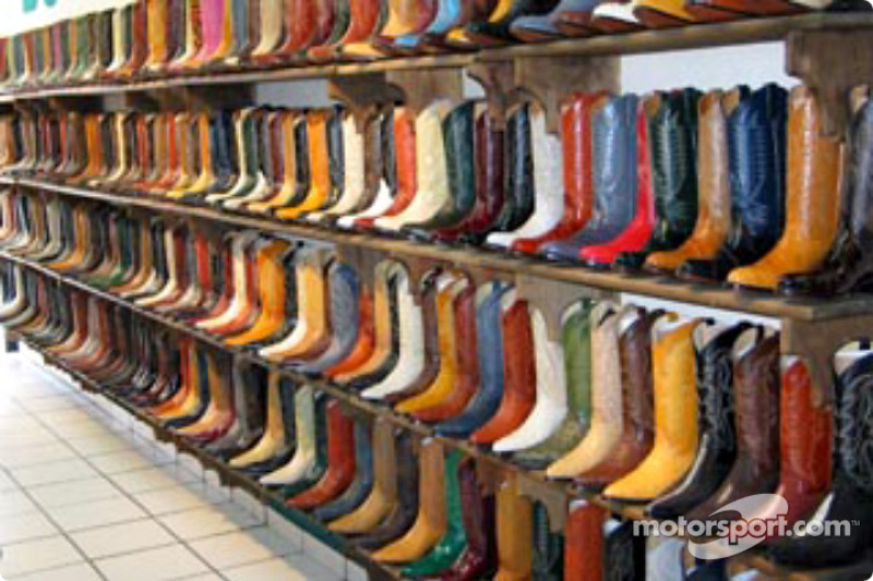 Cowboy boots aplenty
