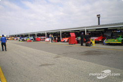 Darlington garage area