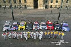 The 2004 DTM drivers and their cars