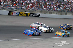 Three wide for the 1st time at Texas Motorspeedway