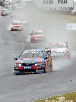 Marcos Ambrose leads the field