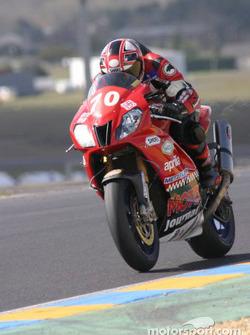 #70 Team Moto Journal Aprilia RSV: Julien Enjolras, Romain Chaucheprat