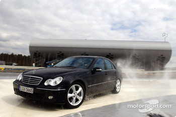 Bernd Schneider tests the AMG-Mercedes