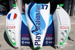 Pescarolo Sport Pescarolo Judd front nose