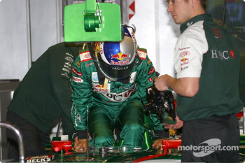 Seat fitting for Christian Klien