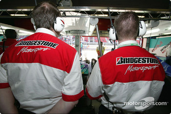 Bridgestone engineers