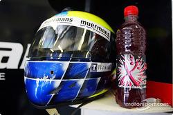Zsolt Baumgartner's helmet