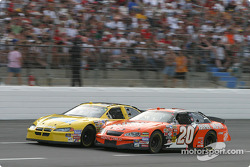 Tony Stewart and Derrike Cope