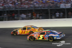 Brendan Gaughan and Terry  Labonte
