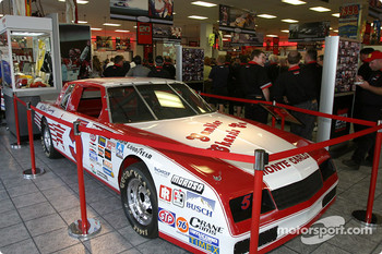 Visit of Hendrick Motorsports: Geoff Bodine's car on display in the museum